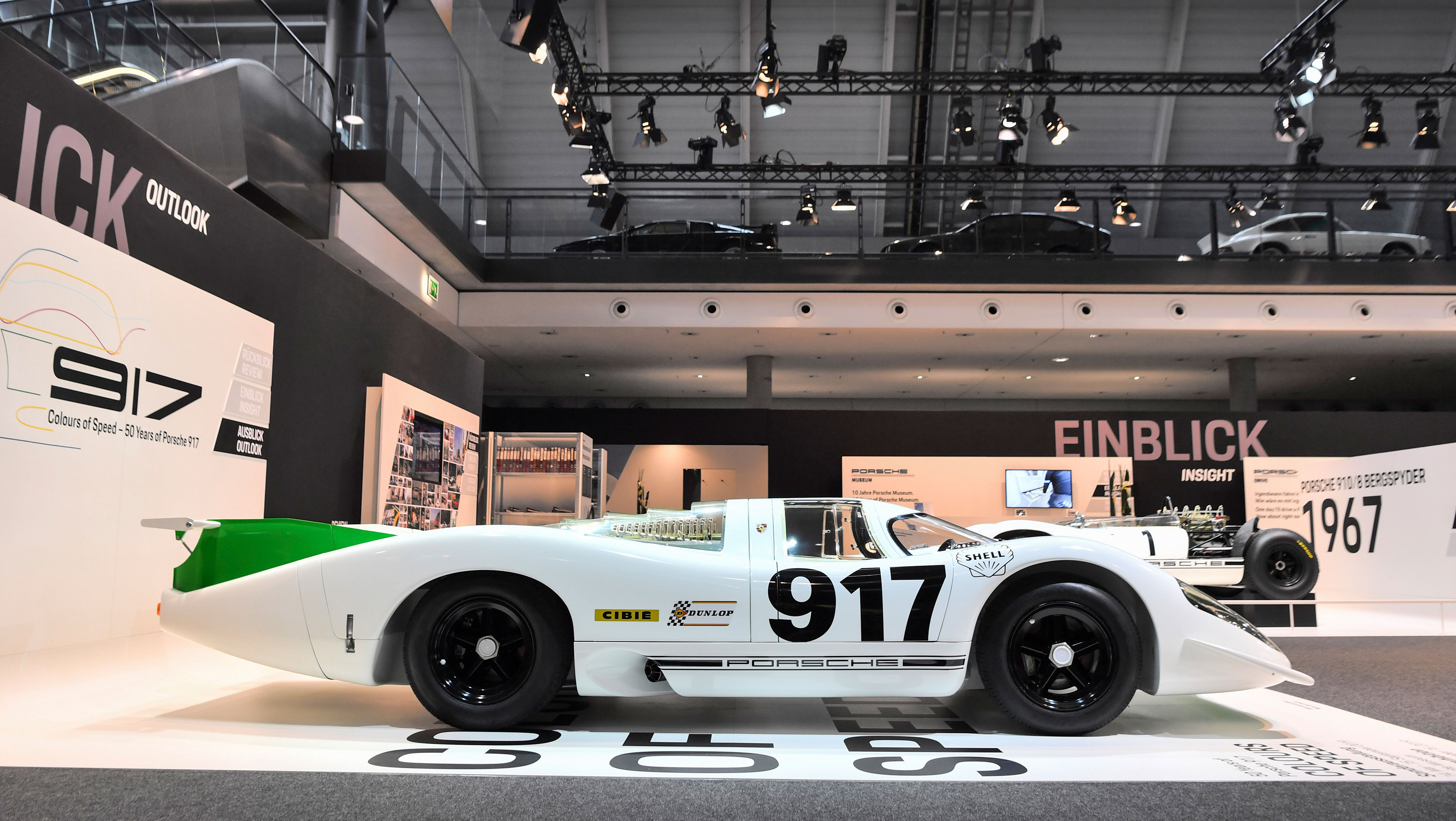 Colours of Speed – 50 Years of the 917