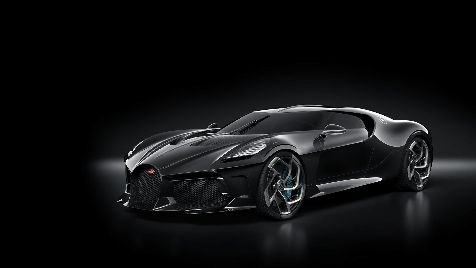 Bugatti Says La Voiture Noire