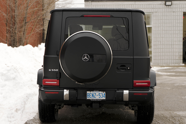 2019 Mercedes G 550