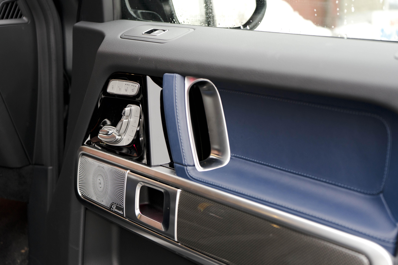 2019 Mercedes G 550 interior