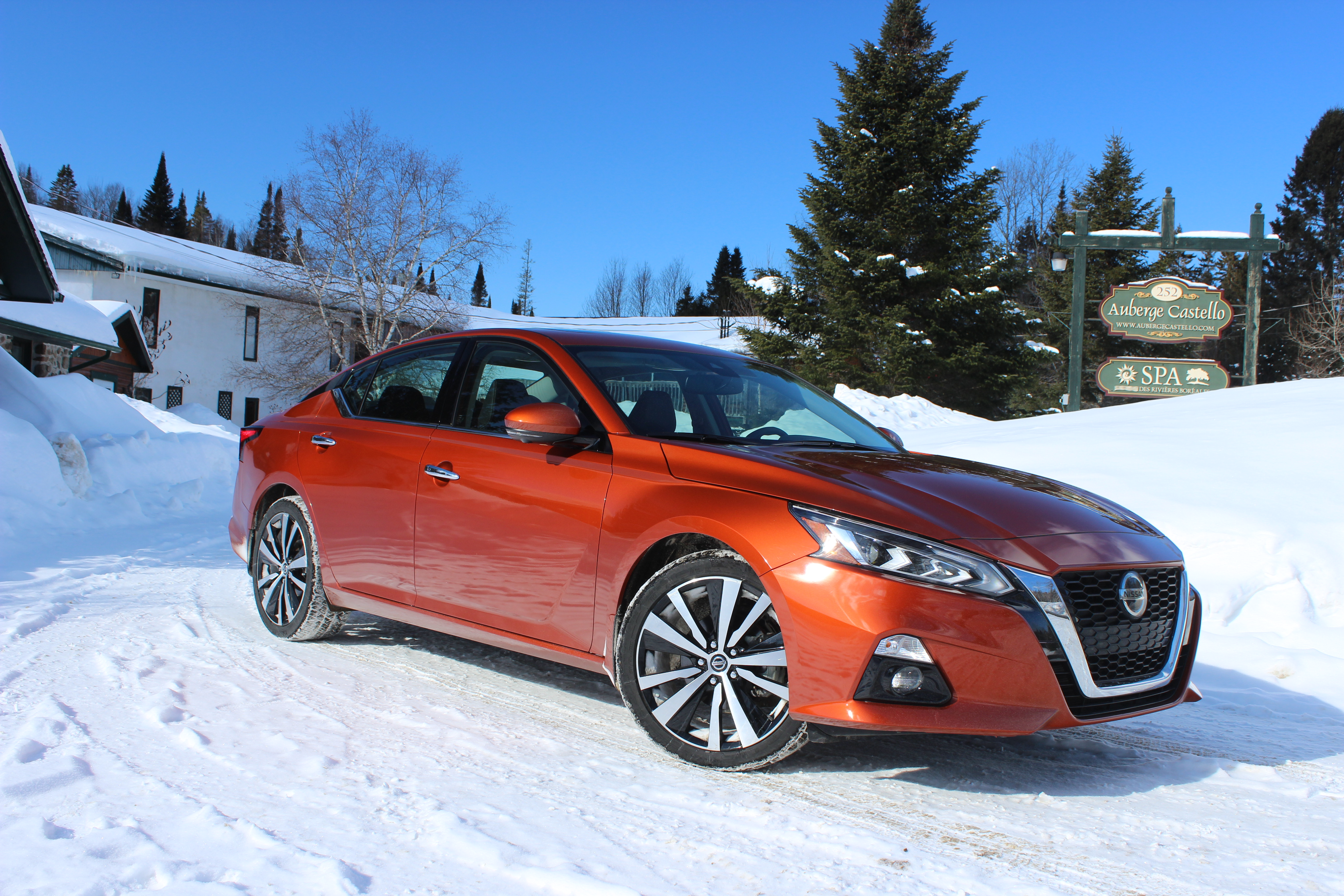 Winter Drive 2019 Nissan Altima