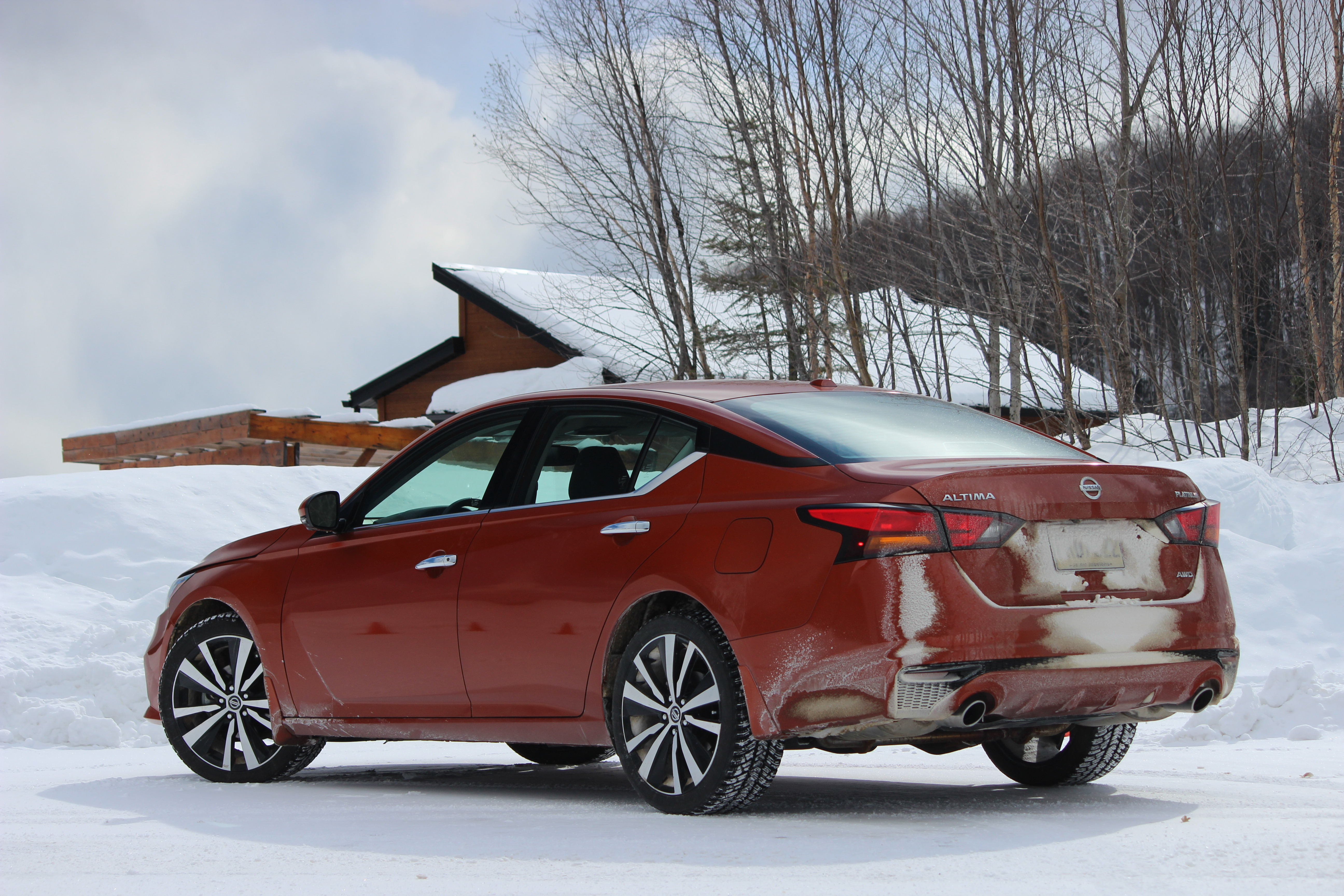 Winter Drive: 2019 Nissan Altima – WHEELS ca