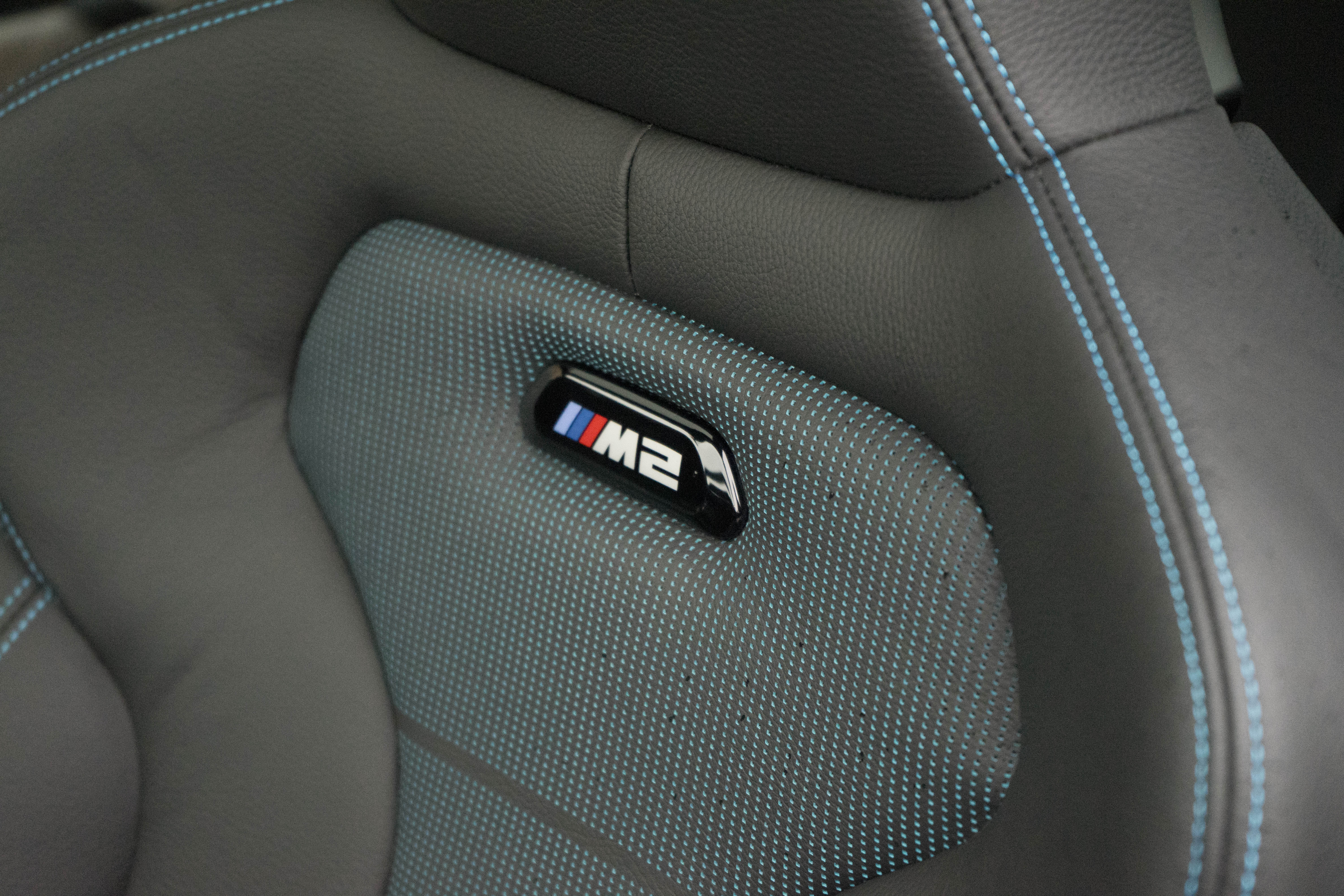 2019 BMW M2 Competition interior