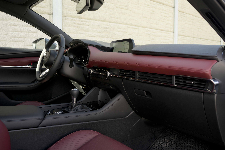 2019 Mazda3 Sport GT interior