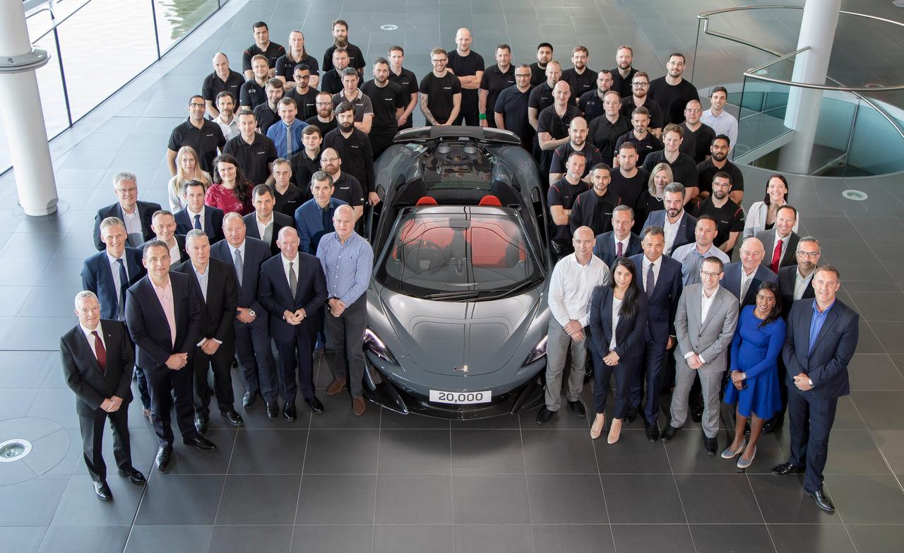20,000th McLaren