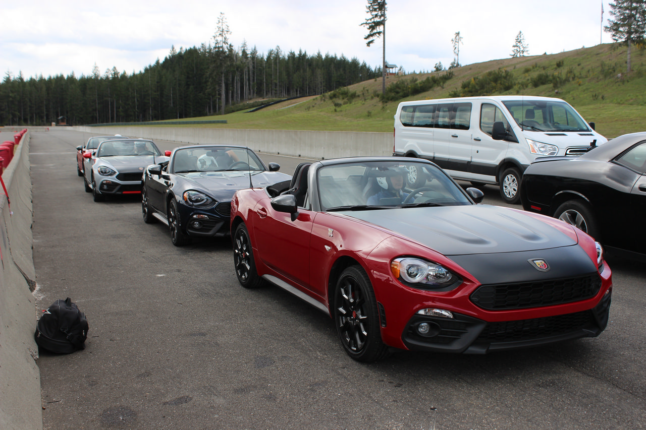 Track Tested 2019 Fiat 124 Spider Abarth and Fiat 500 Abarth