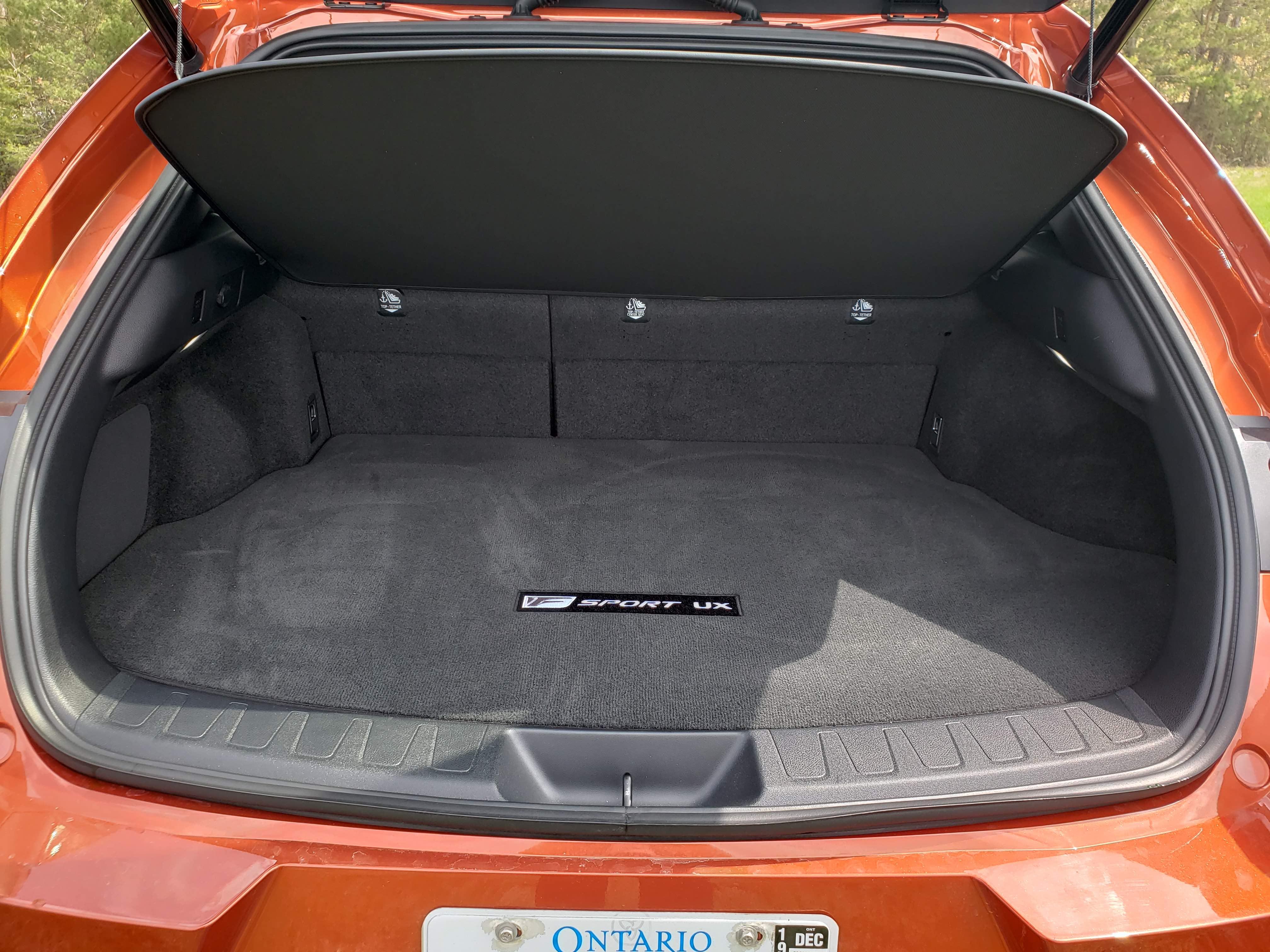 2019 Lexus UX 250h cargo