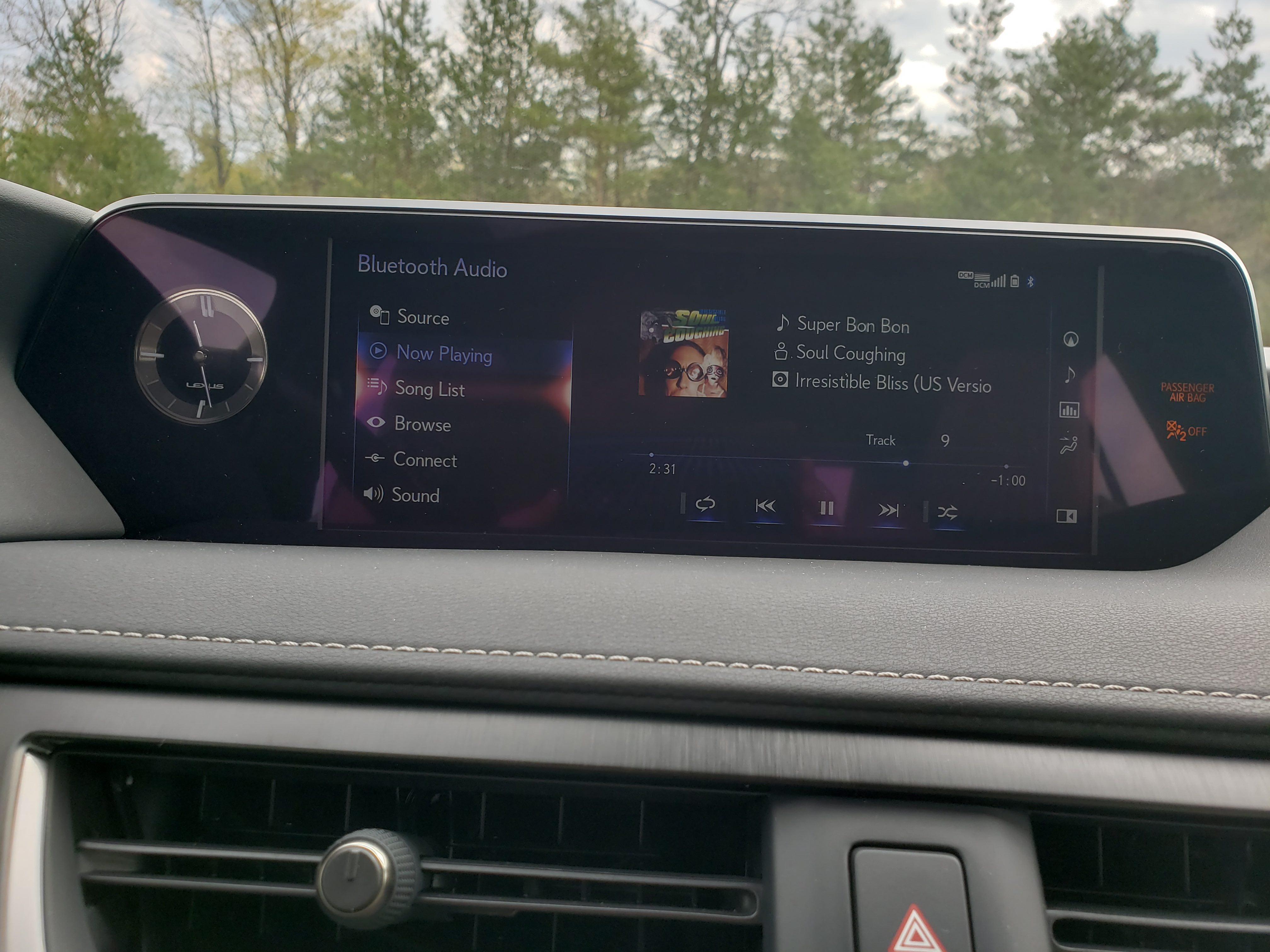 2019 Lexus UX 250h interior