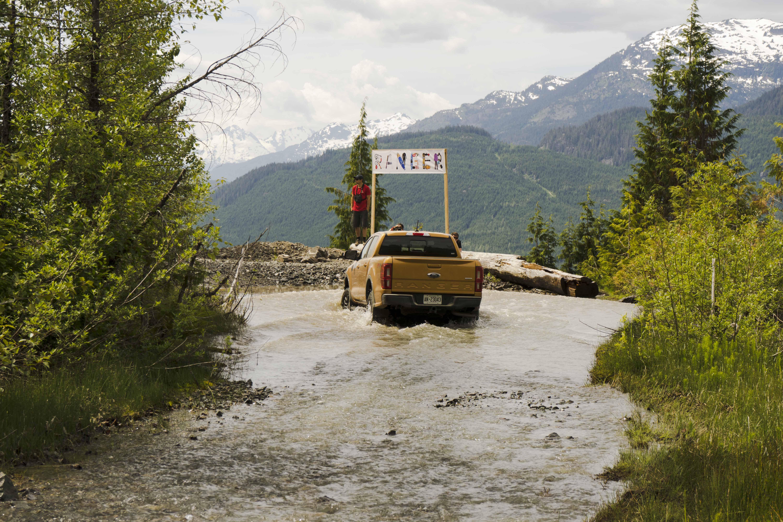 2019 Ford Ranger off-road