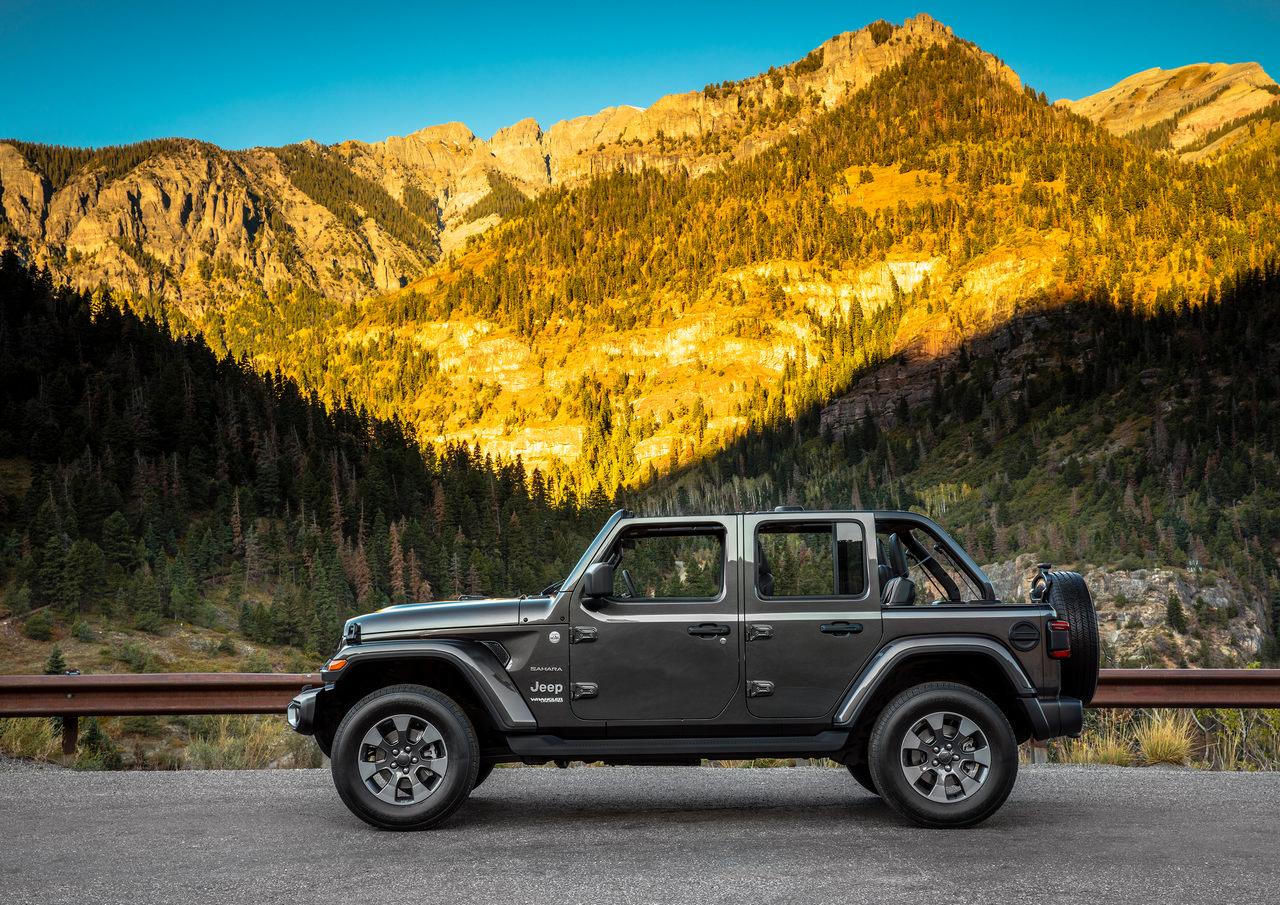 GM Testing Jeeps