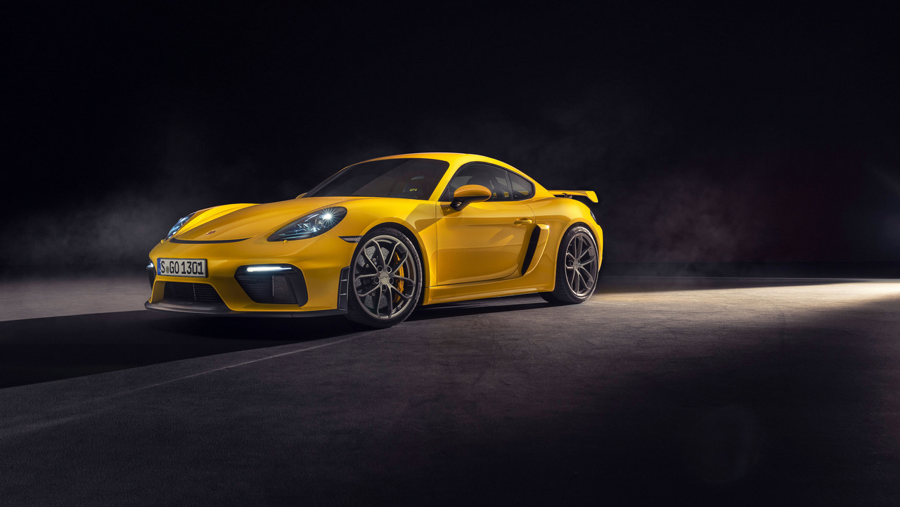 Porsche 718 Spyder and the 718 Cayman GT4