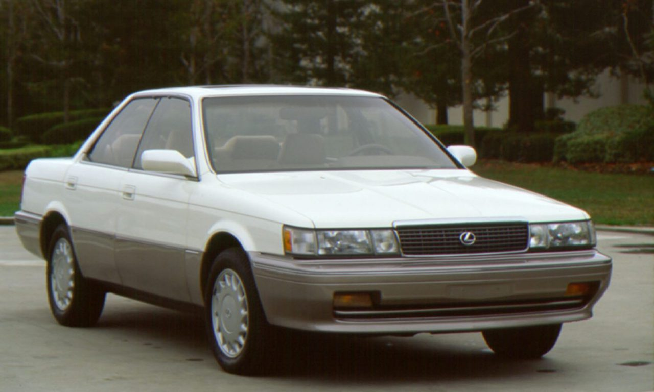 A Brief History of the Lexus Brand