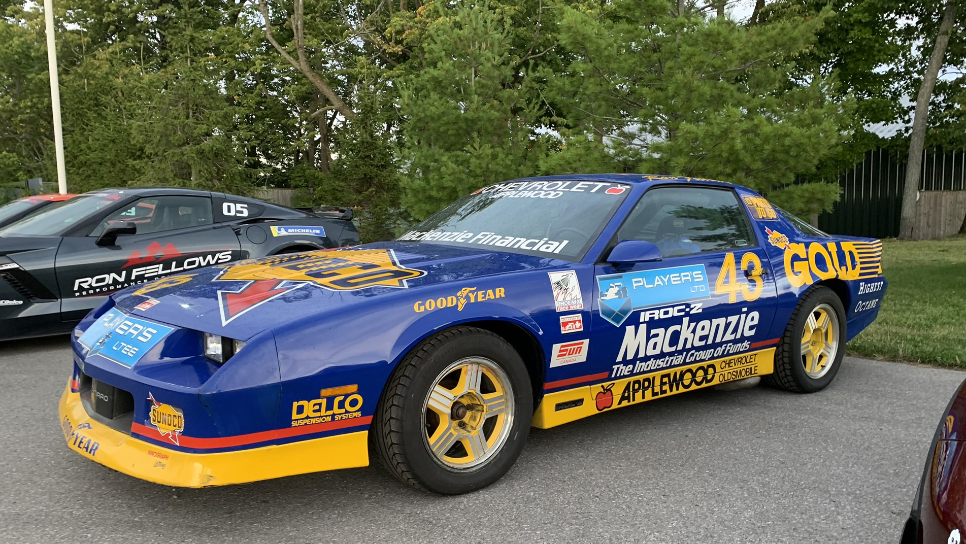 Ron Fellow 1989 Camaro IROC-Z
