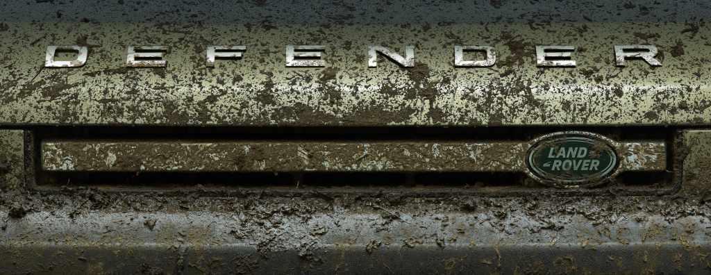 Land Rover Defender sneak