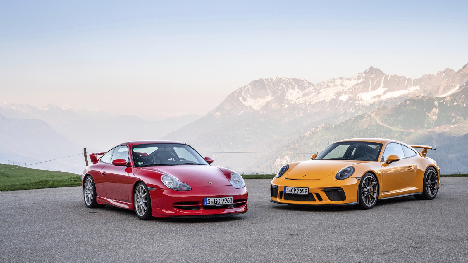 Porsche 911 GT3 Turns Twenty