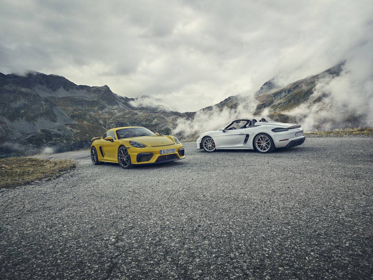 718 Spyder and the 718 Cayman GT4