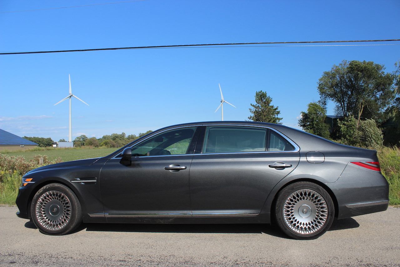 First Drive 2020 Genesis G90