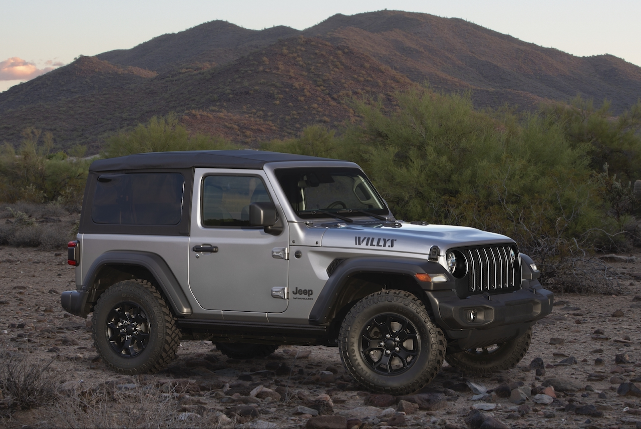 Jeep Introduces New Special-Edition Wranglers