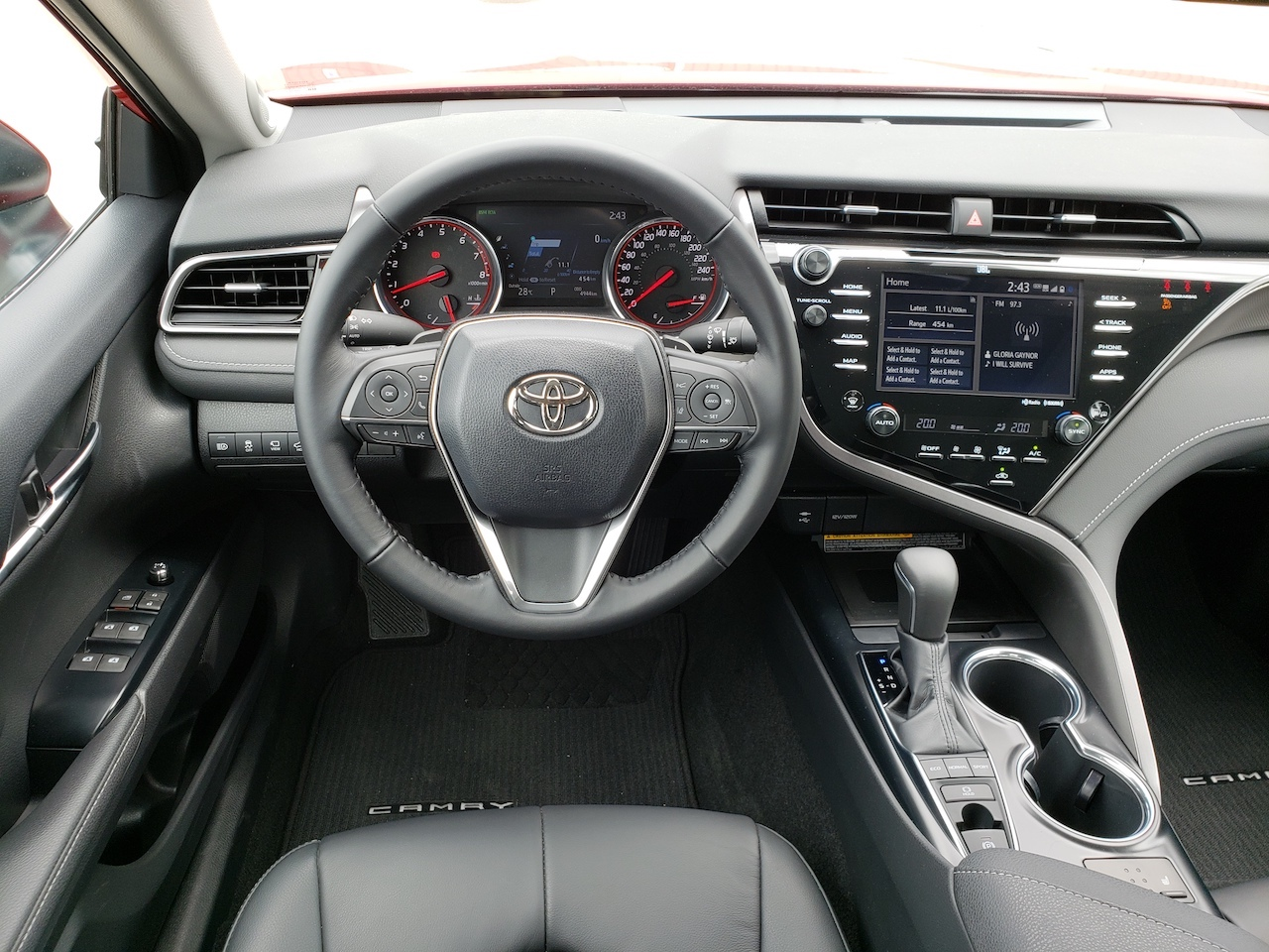Review 2019 Toyota Camry XSE