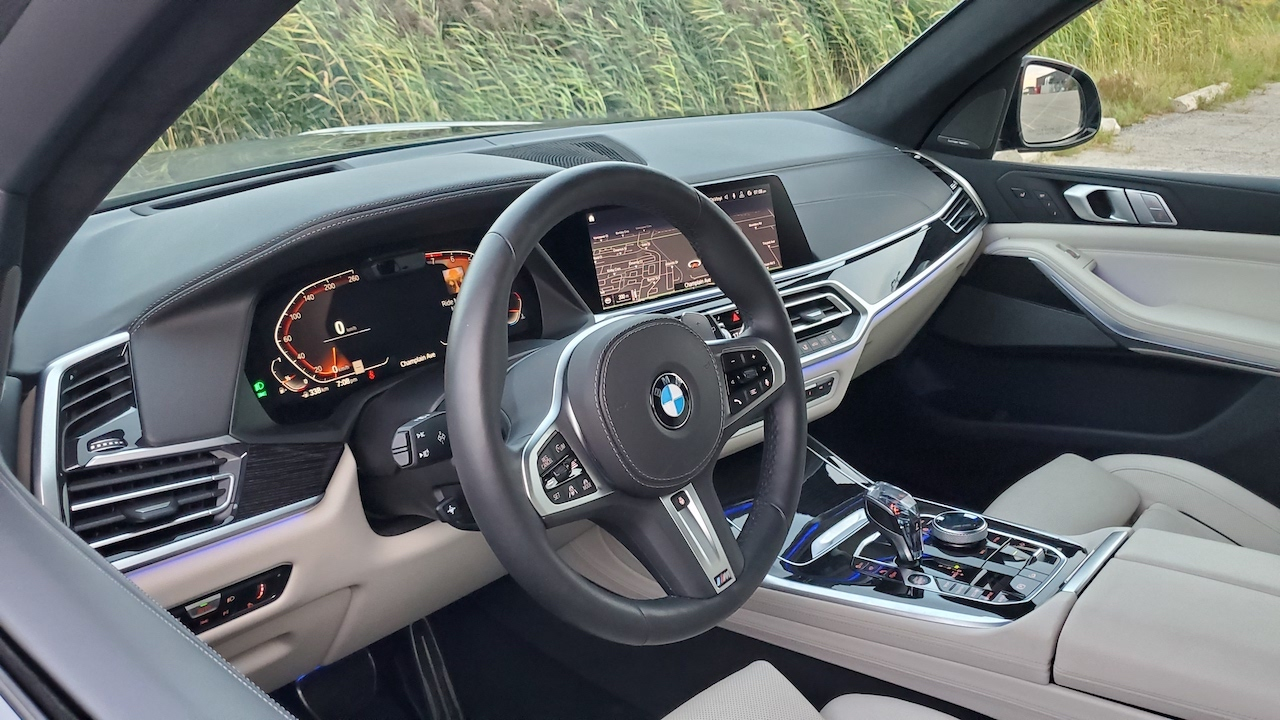 Review 2019 BMW X7 xDrive 40i