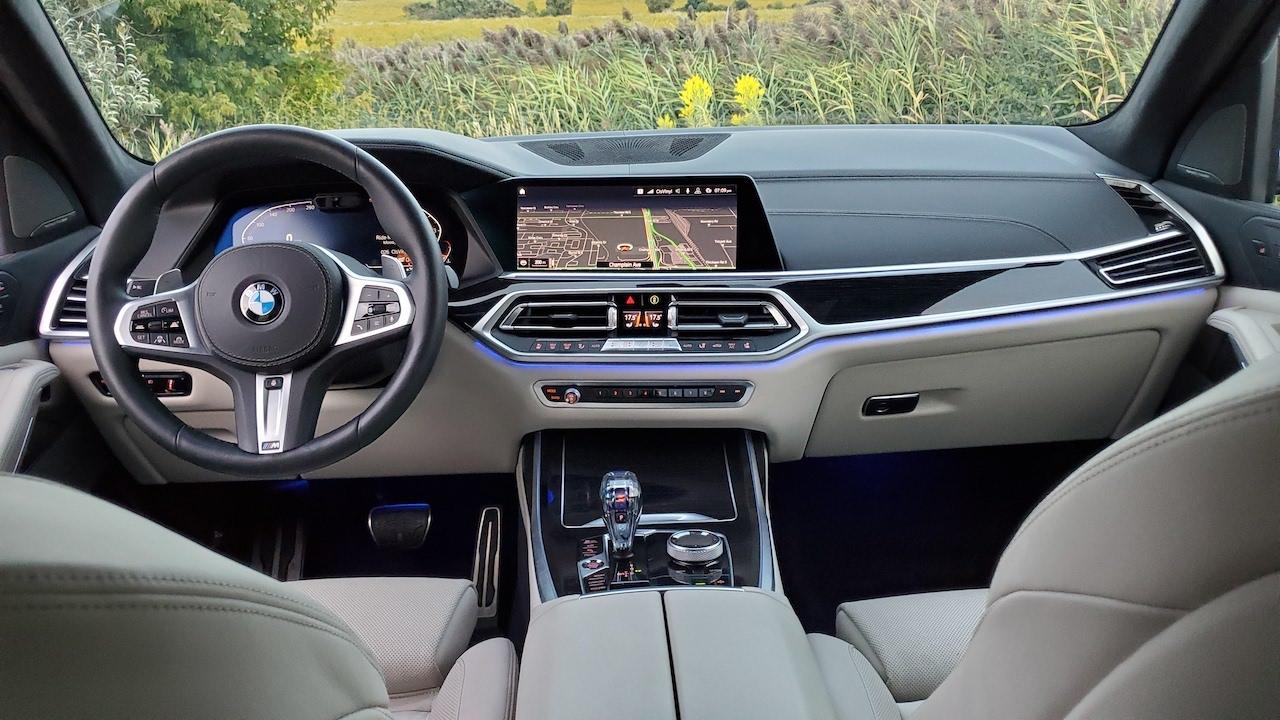 Review 2019 BMW X7 xDrive 40i