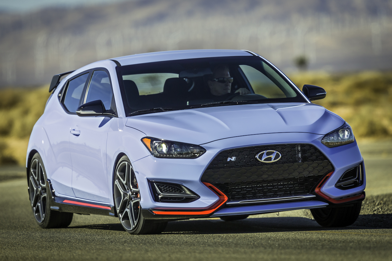 Veloster N Takes Surprise Performance Car of the Year Nod