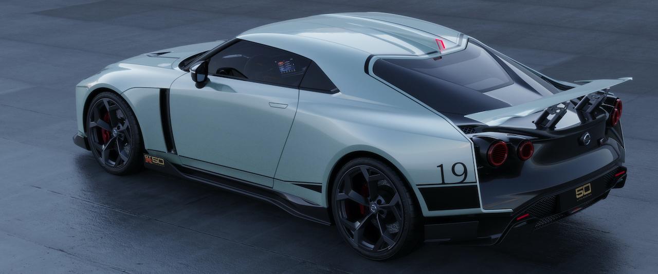 Nissan GT-R50 headed to Geneva
