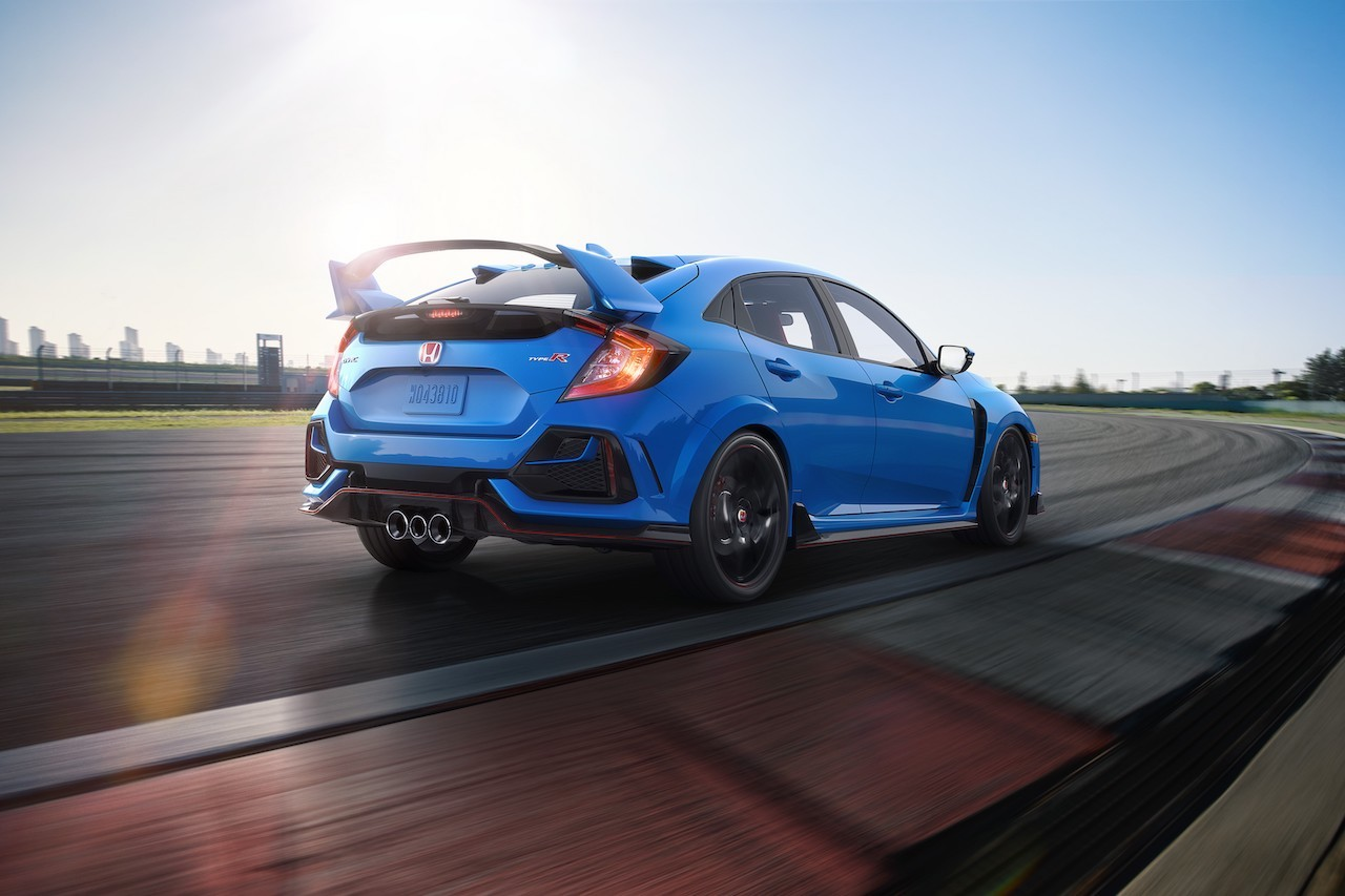 Honda Civic Type R Updated for 2020