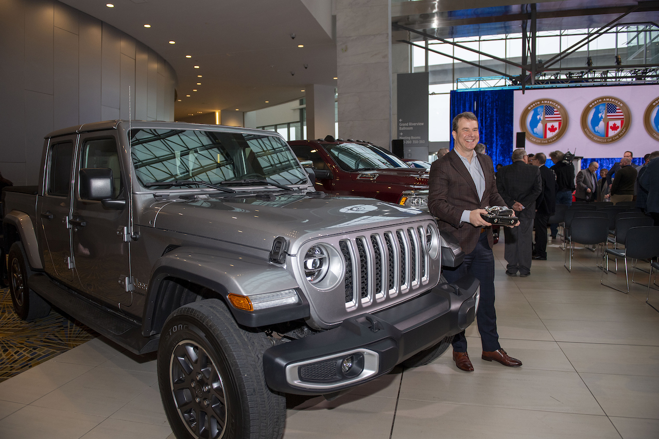 The new Jeep Gladiator has earned the North American Truck of the Year title in its debut year.