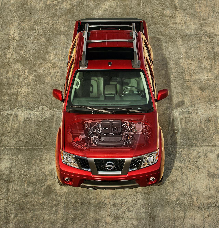 Nissan Frontier pickup truck