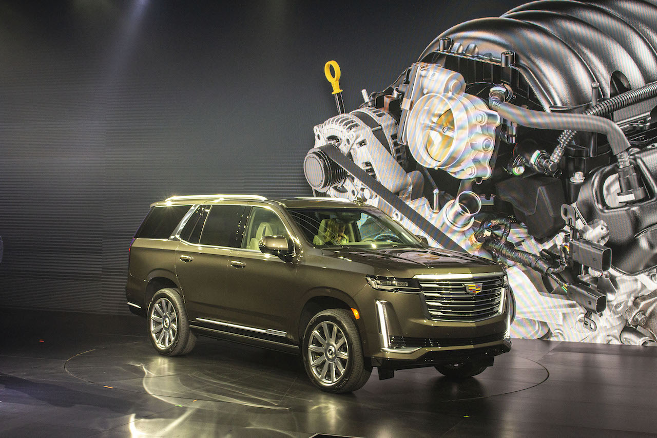 The 2021 Cadillac Escalade is Presented to the World ...