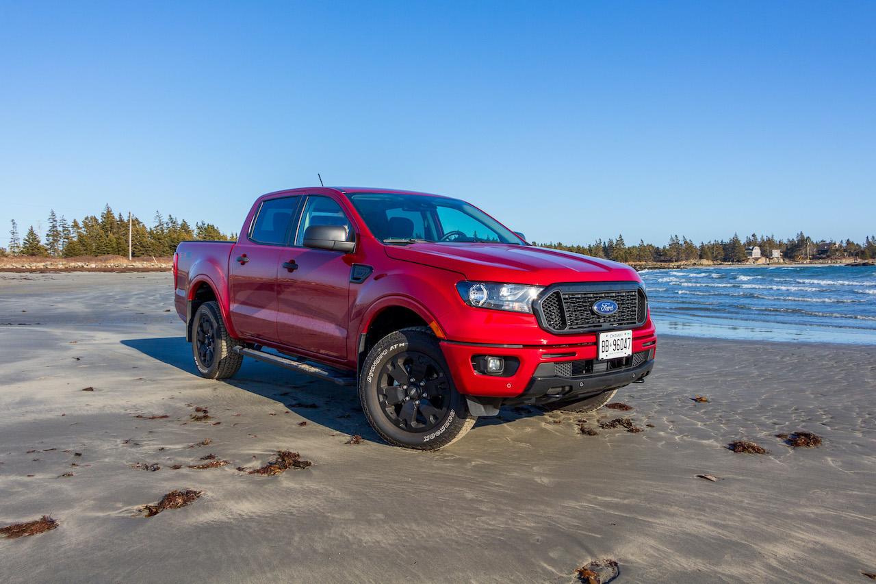 2020 Ford Ranger vs 2020 Jeep Gladiator