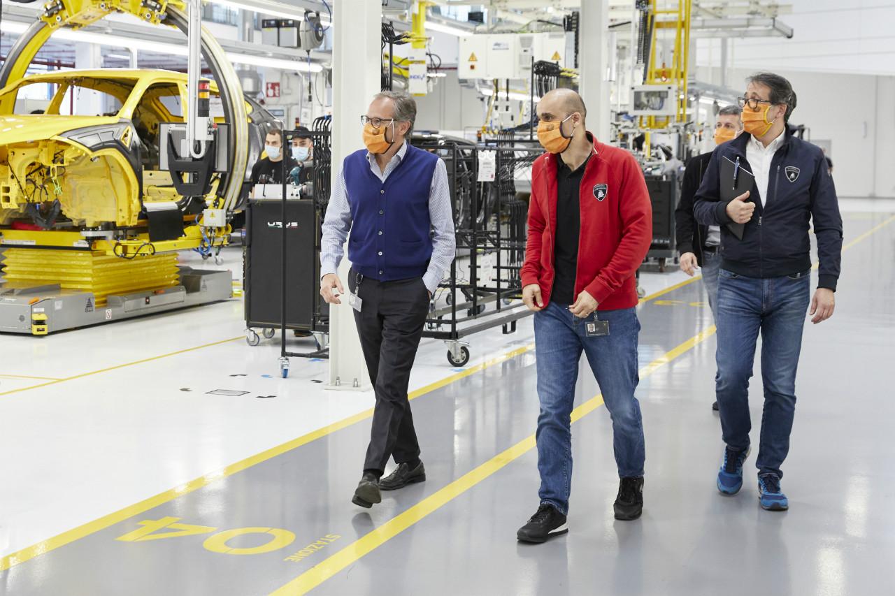 Lamborghini Resumes Production
