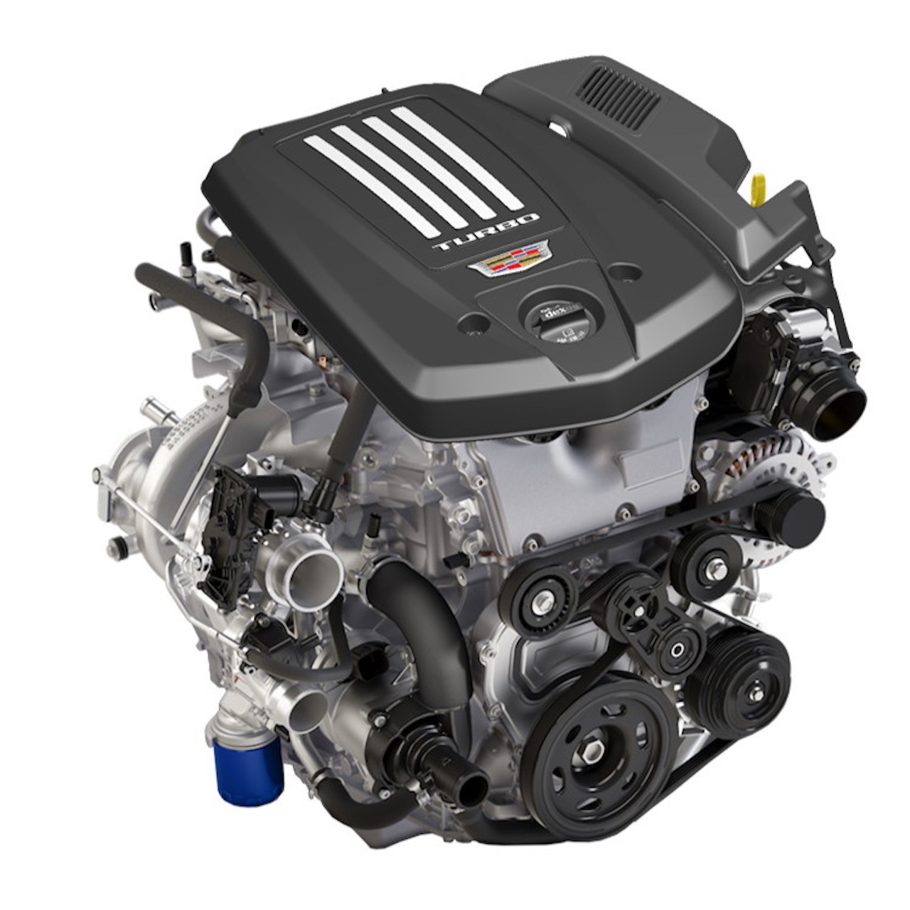 Cadillac now offers its 2.7-litre Dual Volute engine on the 2020 CT4-V sedan and optional on the CT4.