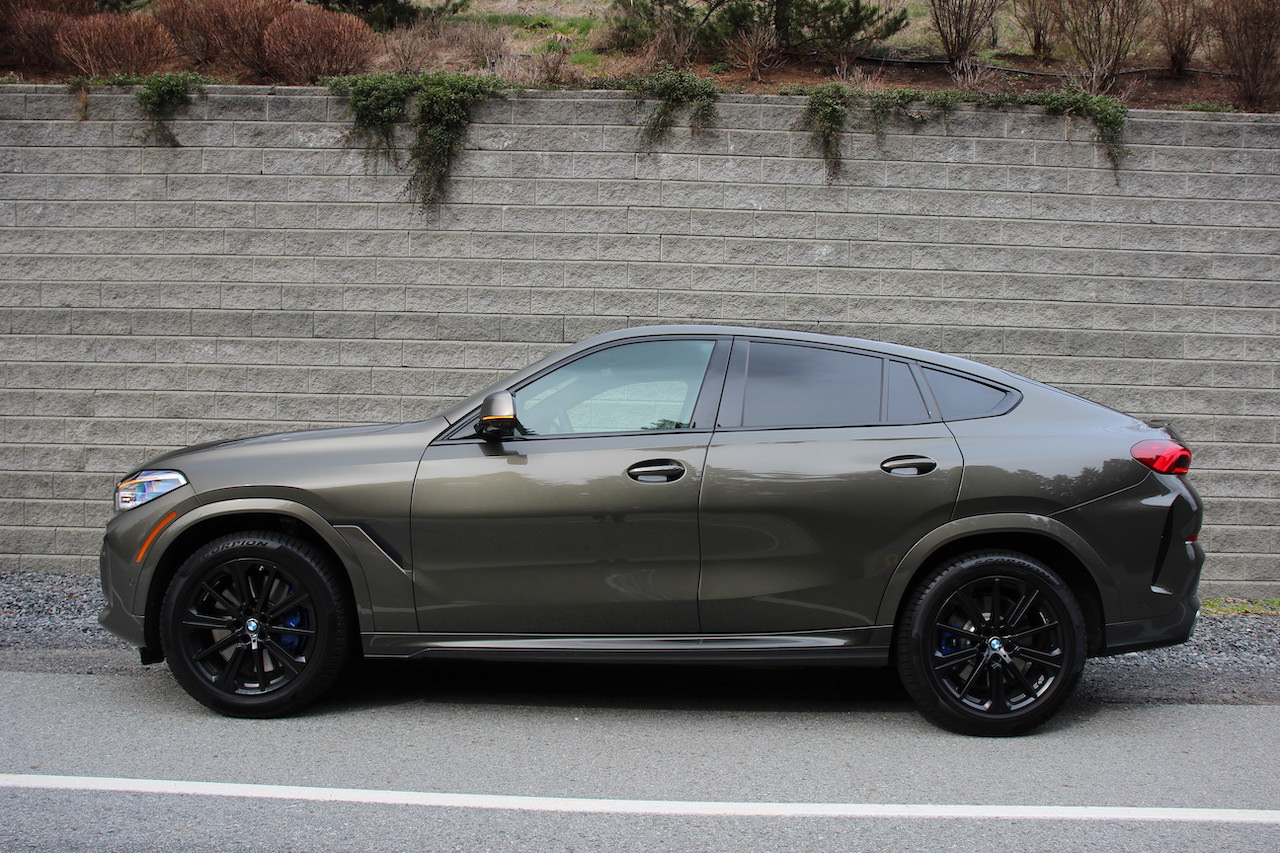 Review 2020 BMW X6 M50i