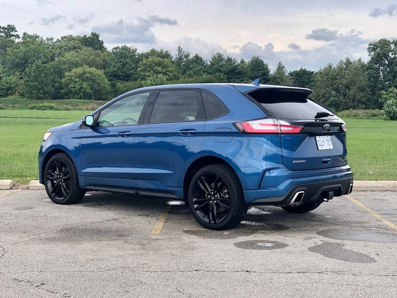Review 2020 Ford Edge ST
