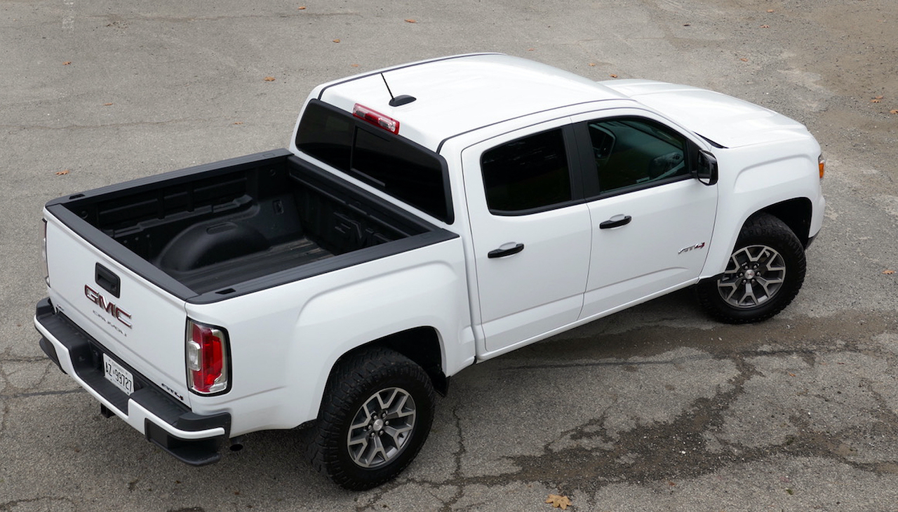 Review 2021 GMC Canyon AT4
