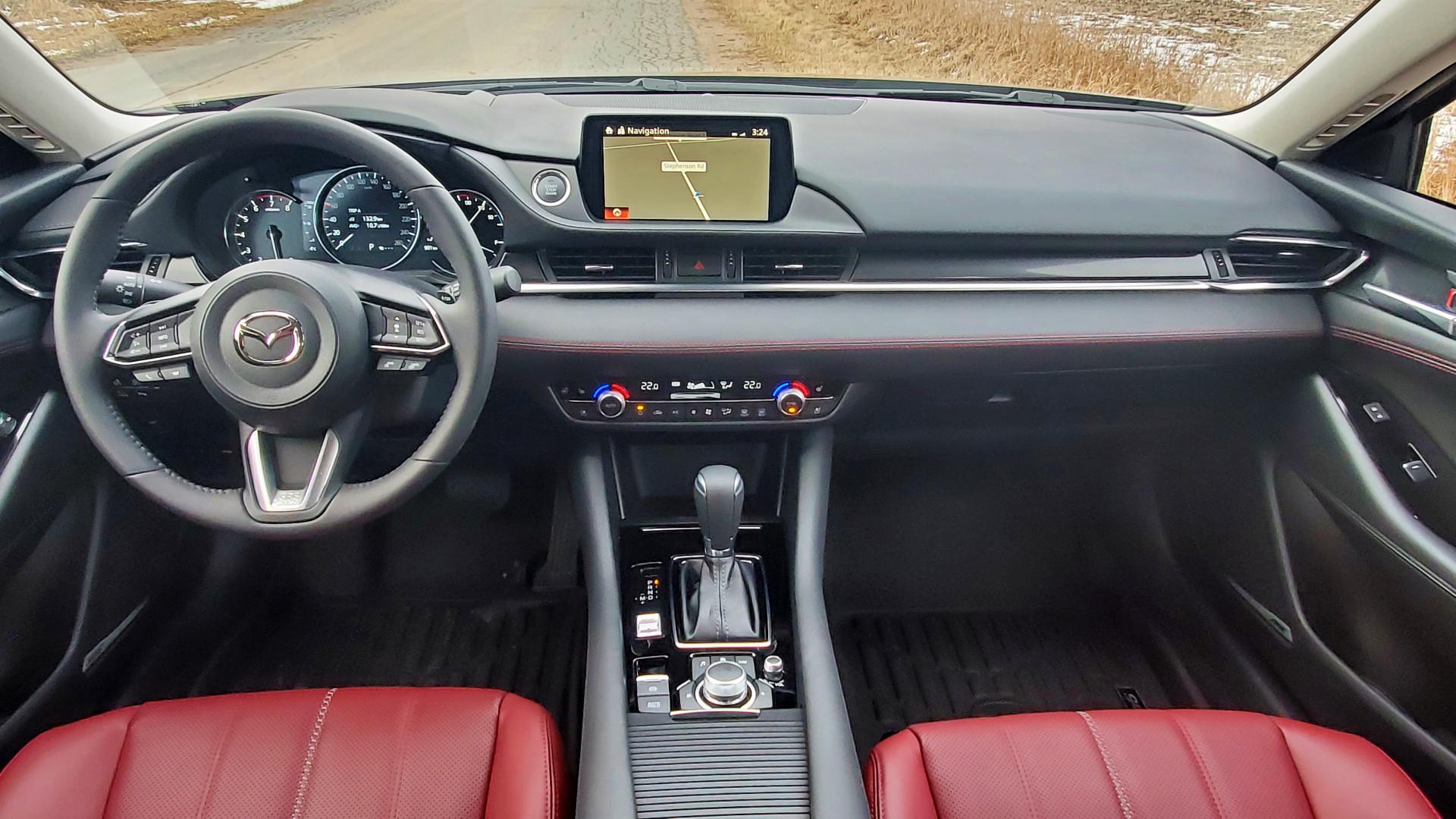 Review 2021 Mazda6 Kuro