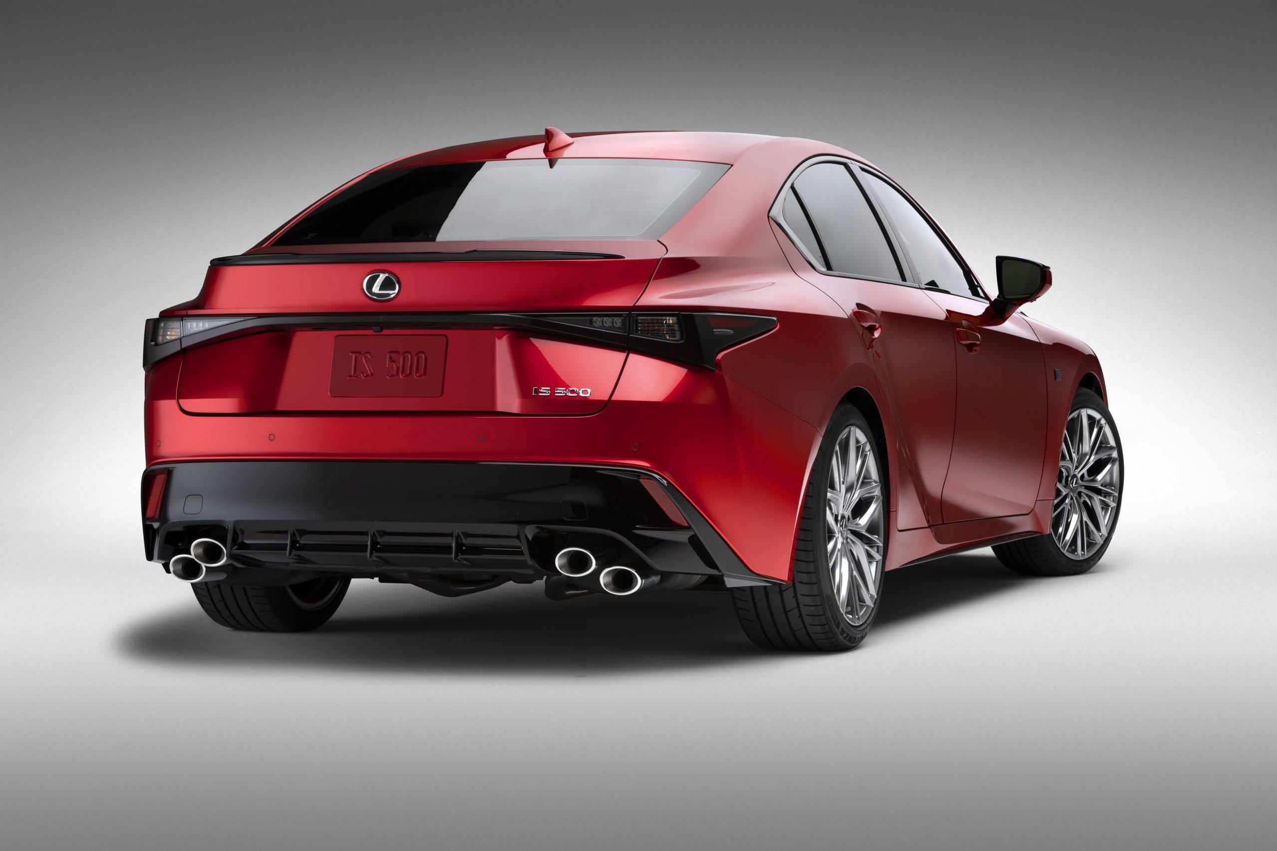 First Look 2022 Lexus IS 500