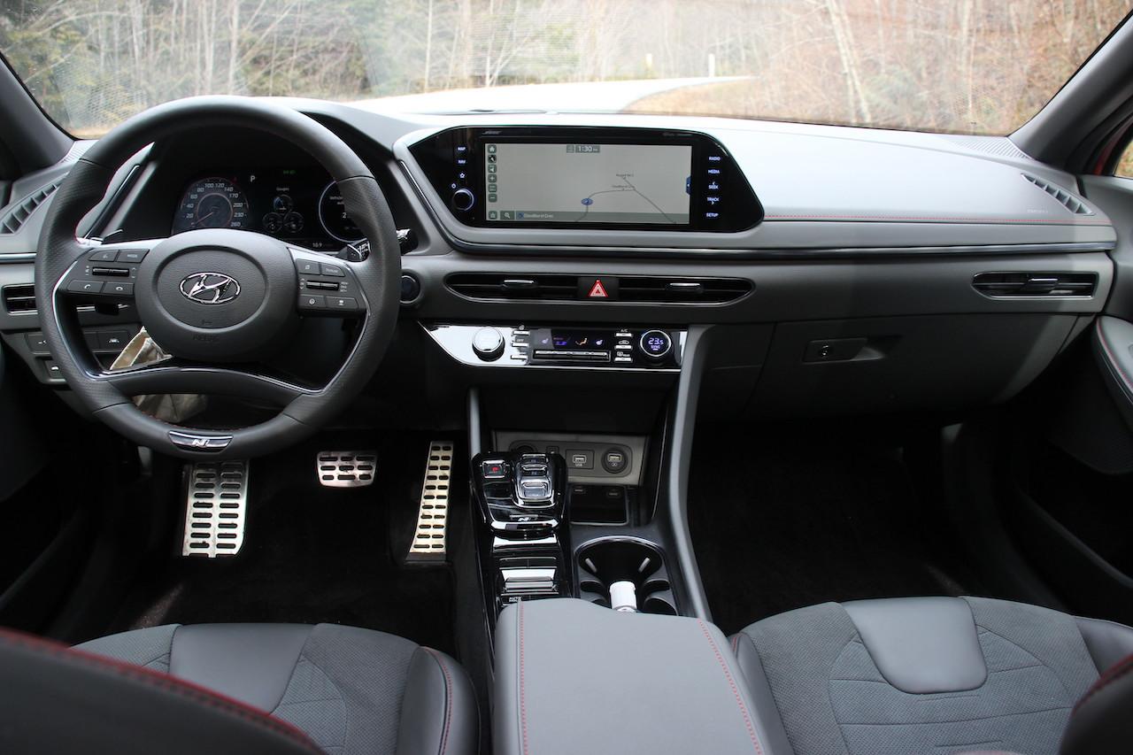 Review 2021 Hyundai Sonata N Line