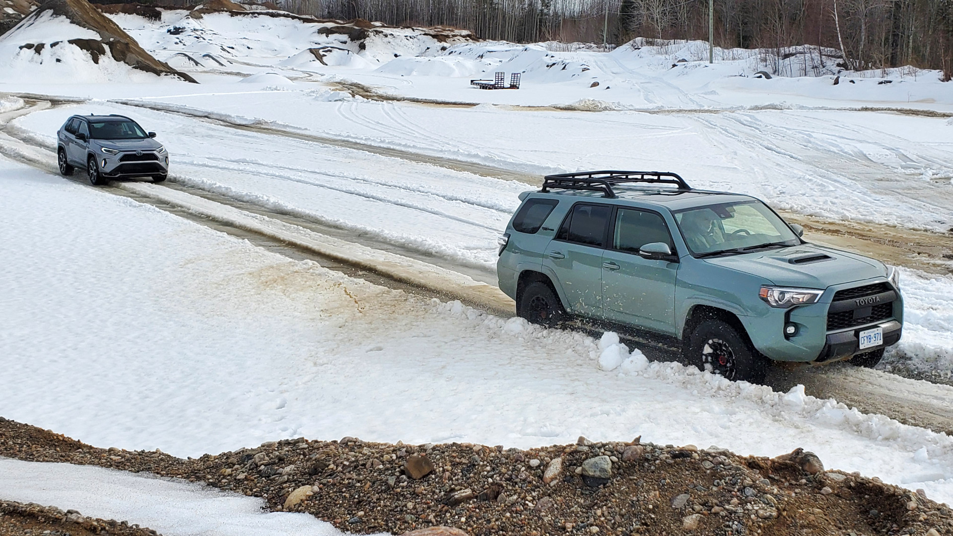 Toyota Winter Drive Event