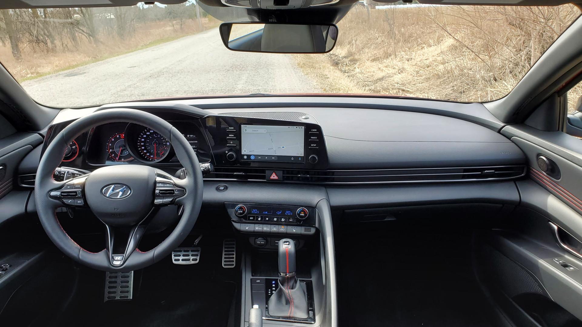 Review 2021 Hyundai Elantra N-Line