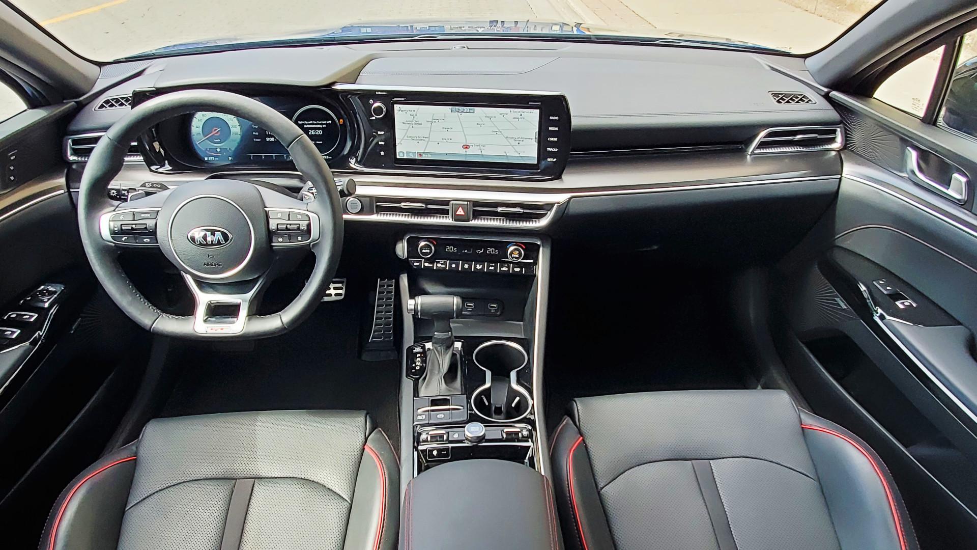 Review 2021 Kia K5 GT