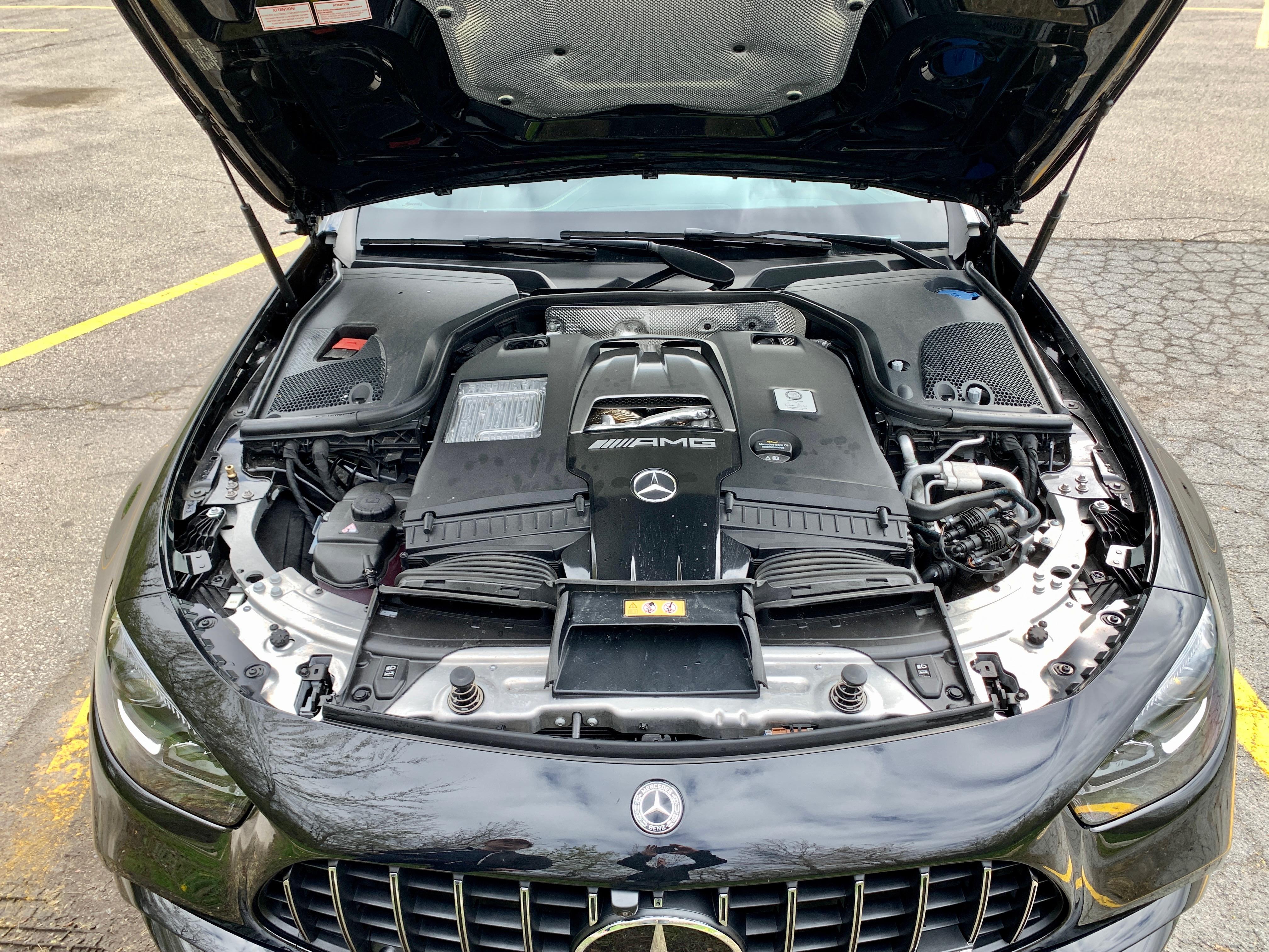 2021 Mercedes Benz E63S