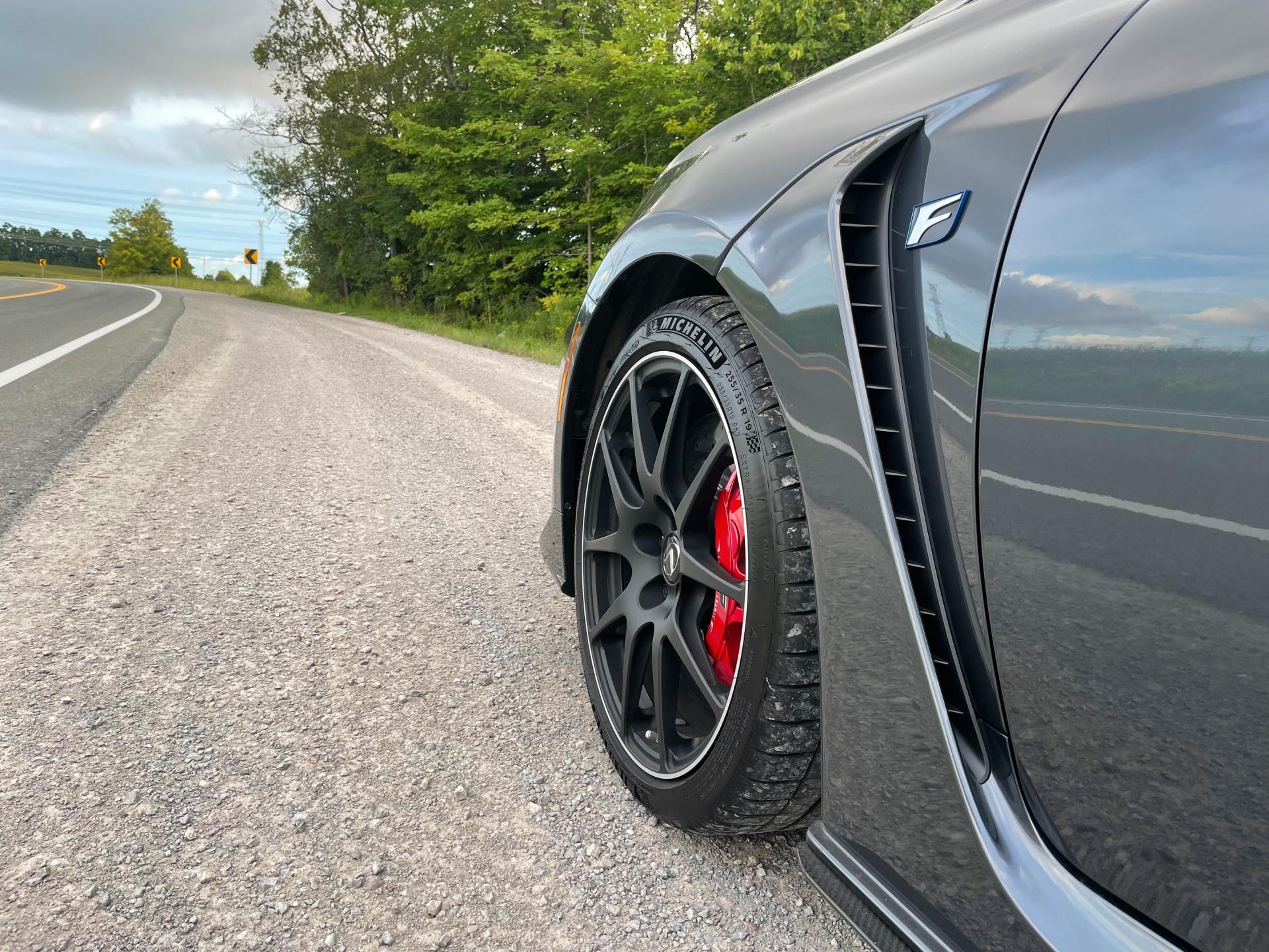2021 Lexus RC F Track Edition