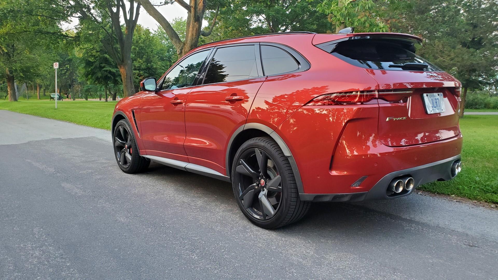 2022 Jaguar F Pace SVR