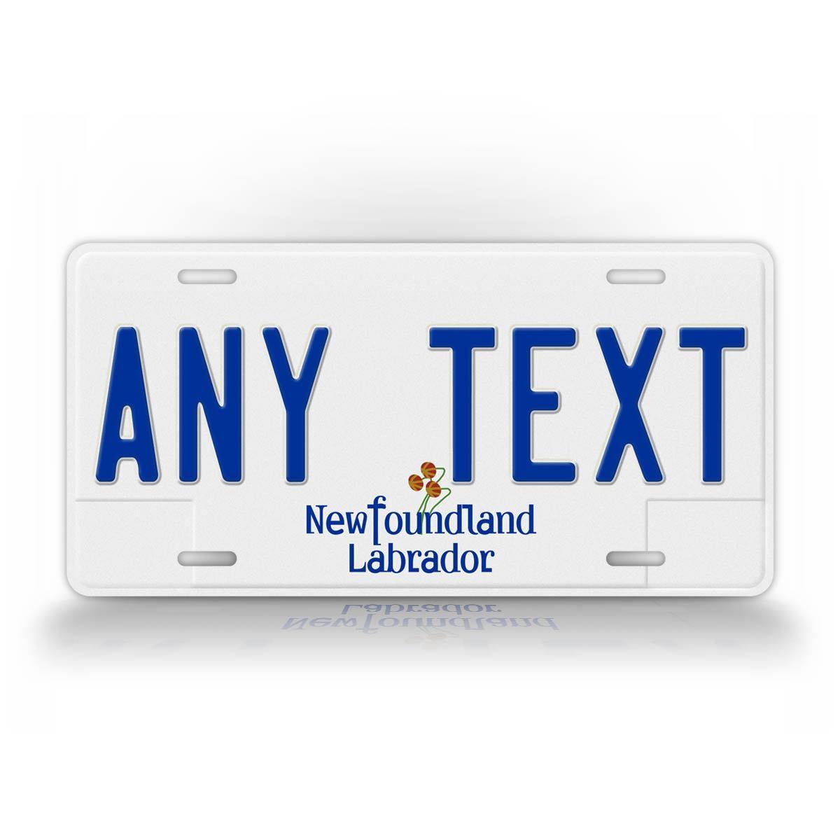 Newfoundland Plates