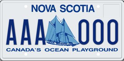 Nova Scotia Plates