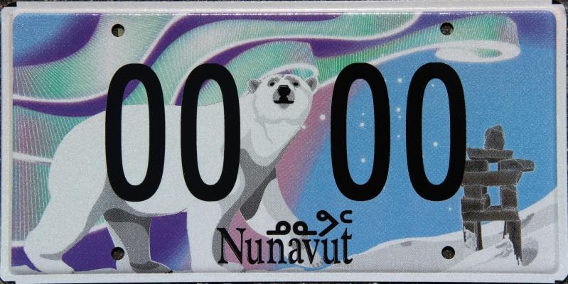 Nunavut Plates