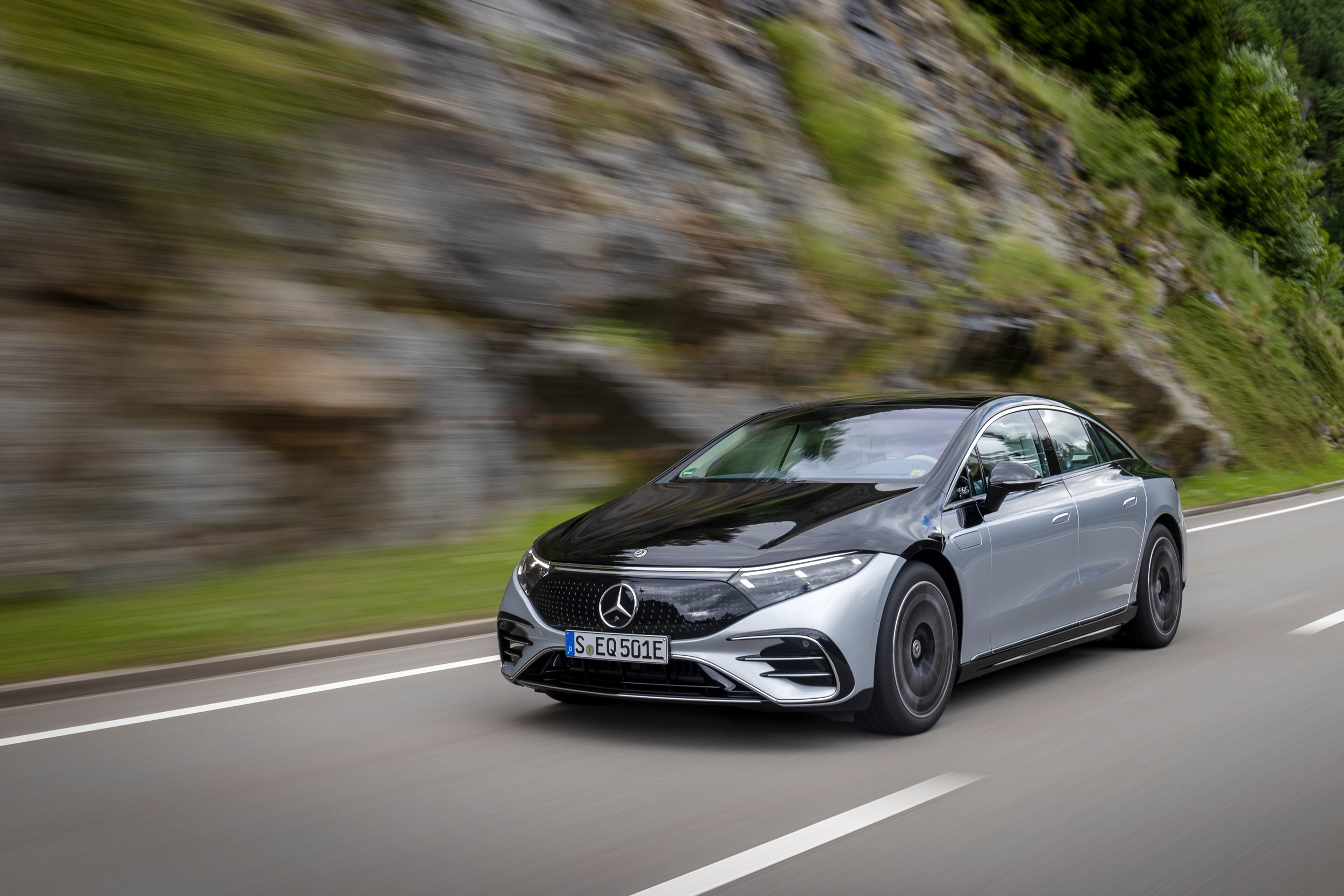 Mercedes-EQ EQS 580